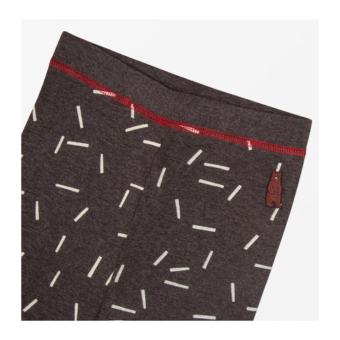 Dash Print Leggings Detail