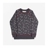 Dash Print Sweater Front
