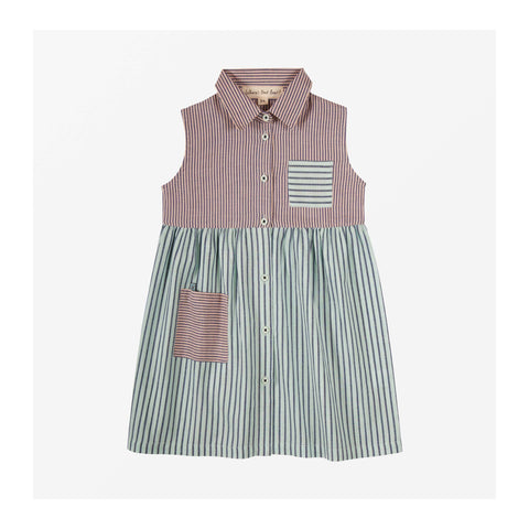 Ice Cream Stripe Dress front