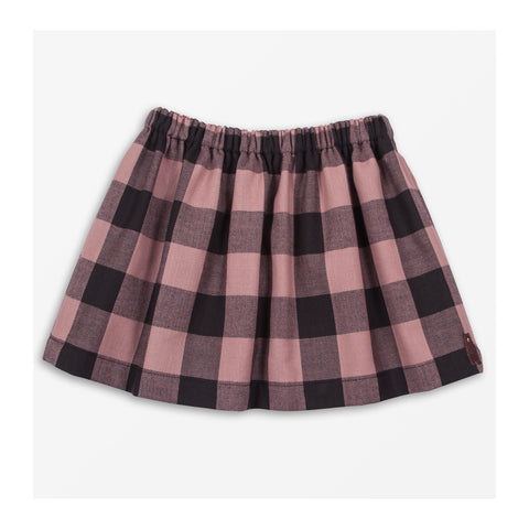 London Check Skirt front