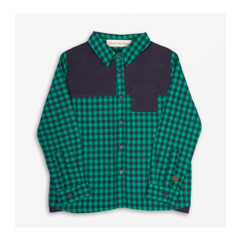 Marlon Check Shirt front