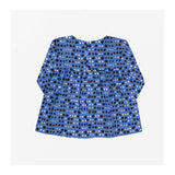 Pebble Dot Top Cornflower Blue