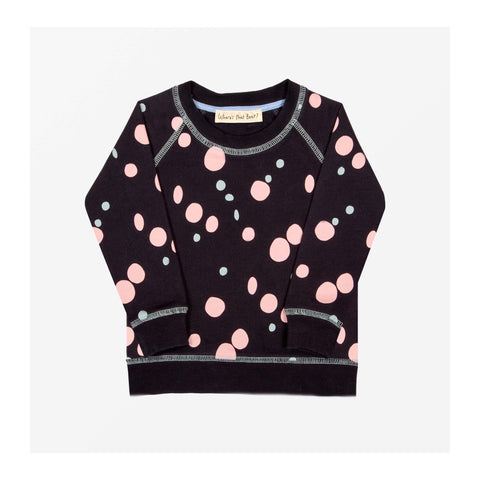 Puddle Spot Jersey Sweater Midnight Blue front