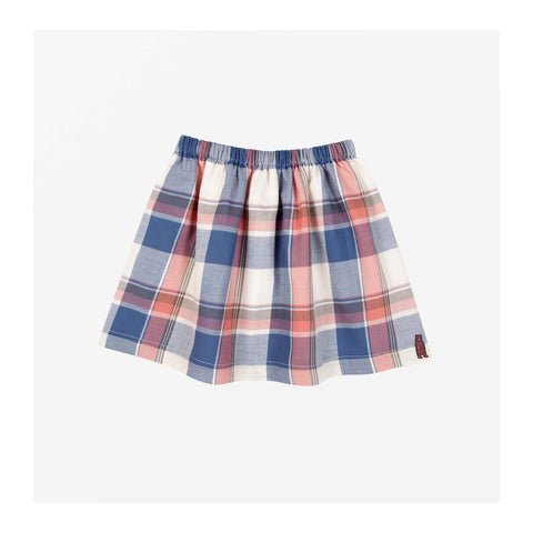 Rae Check Skirt Front