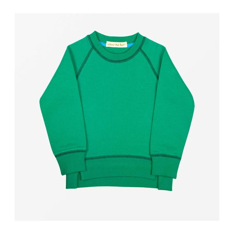 Sunshine Jersey Sweater Edie Green front