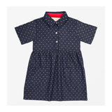 Chambray Dot Dress Front