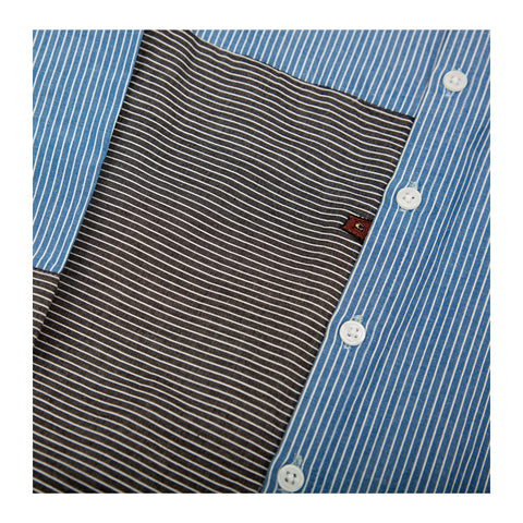 Pencil Stripe Shirt Detail
