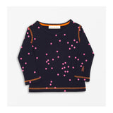 Speedy Dot T-Shirt - Navy Front