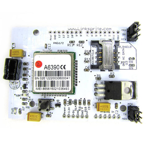LinkSprite ATWIN Quad-band GPRS/GSM Shield for Arduino