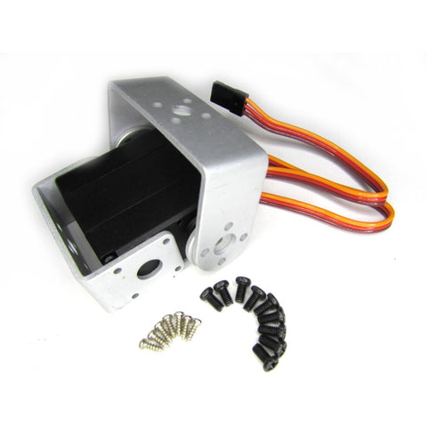 Metal Gear Digital robotic servo 15kg Torque with Bracket