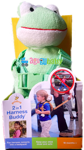 Harness Backpack for Toddlers Frog