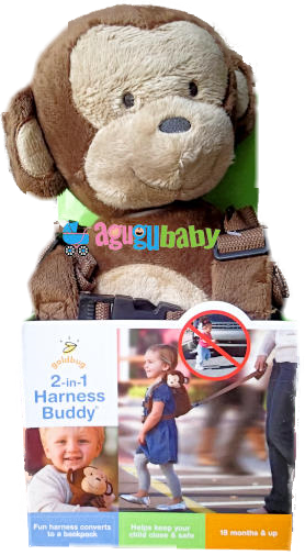 Harness Backpack for Toddlers Monkey
