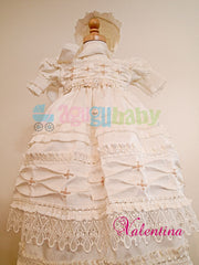 Baptism Gown for girl    mod. Valetina