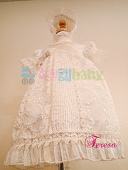 Baptism Dress for girl  mod. Teresa