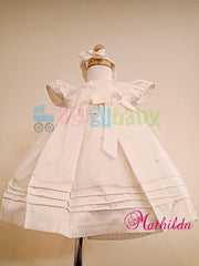 Baptism Dress for girl  mod. Mathilda
