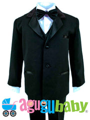 Baby and Boy Tuxedo, Black