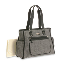 Diaper Bag City Tote Gray by Carter's
