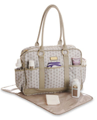 Diaper Bag Classic Beige by Carter's