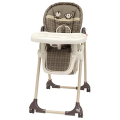High Chair Monkey and Zebra, Sahara by Baby Trend