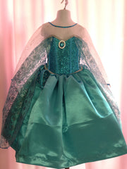 Elsa Frozen Princess Costume Gorgeous Sparkles