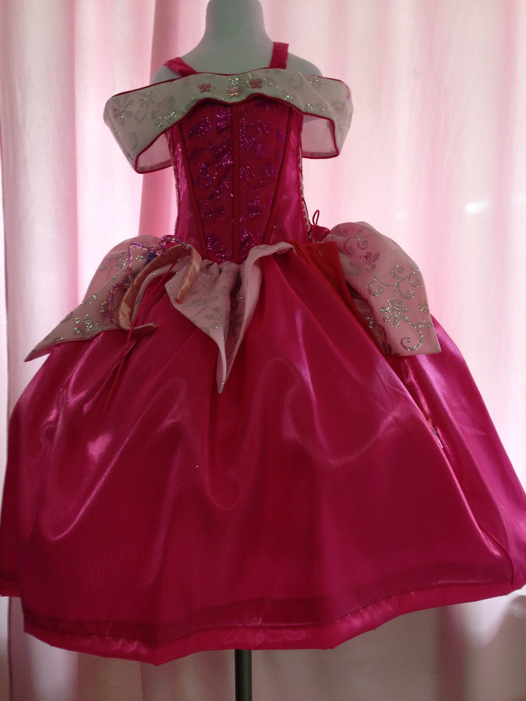 Aurora Princess Costume Pink Dream Sleeping Beauty