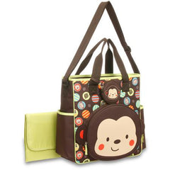 Monkey Diaper Bag Tote by Baby Boom
