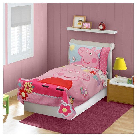 Peppa Pig Toddler Bedding Reversible Set