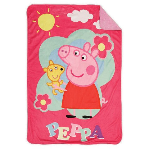 Peppa Pig Toddler Blanket