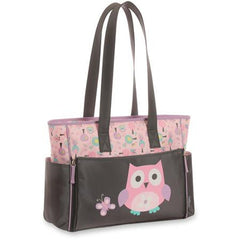 Pink Owl Diaper Bag  by Baby Boom