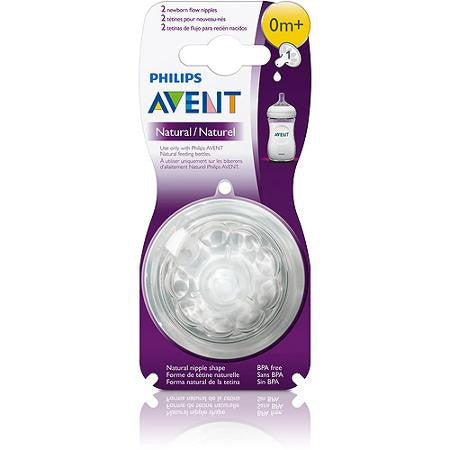 Natural Nipple Preemie First Flow 0 months by Philips AVENT