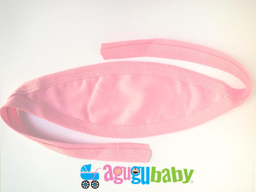 Baby Belly Button Cover, 100% Cotton  Pink