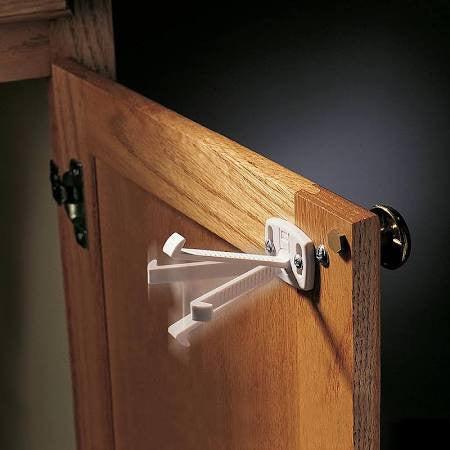 Cabinet and Drawer Lock Safety by Kidco