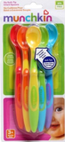 Soft Tip Infant Spoons 6pk Assorted, By Munchkin