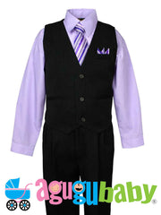 Baby & Boy Vest, Tie and Shirt