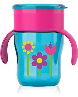 My Natural Drinking Cup 9oz for Girl by Philips Avent