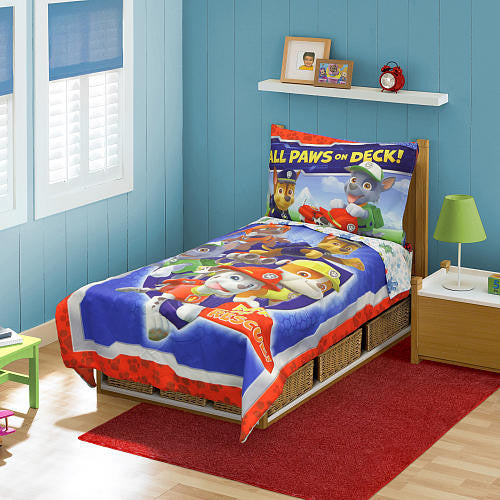Paw Patrol Boy Toddler Bedding Set