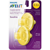 Soothie Pacifier 0,3m Yellow by Philips AVENT