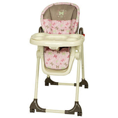 High Chair Pink and Brown Victoria by Baby Trend