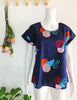 Box Tee Blouse - Landscape