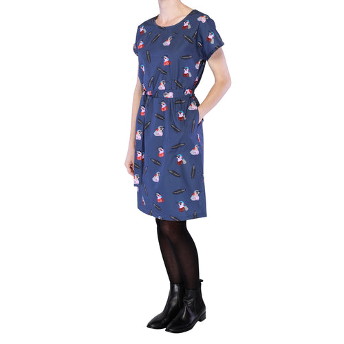 Kimono Sleeve Dress - Birds of a feather