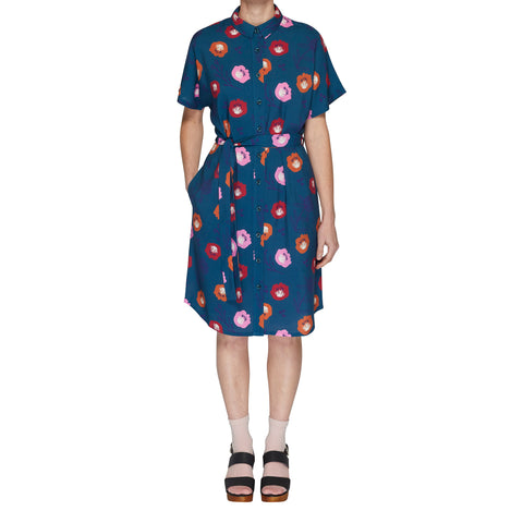 Button through top - Summer Floral