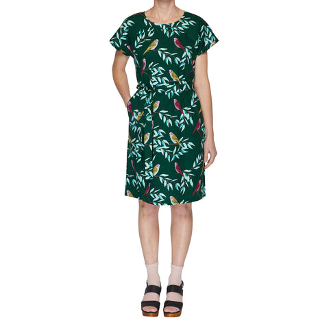Button shirt dress - Waratah