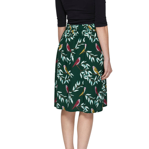 Pleat Skirt - Tree Top
