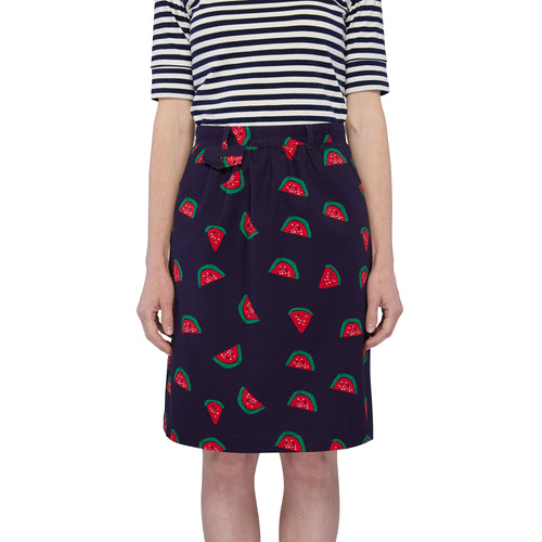 Pocket Skirt - Watermelon