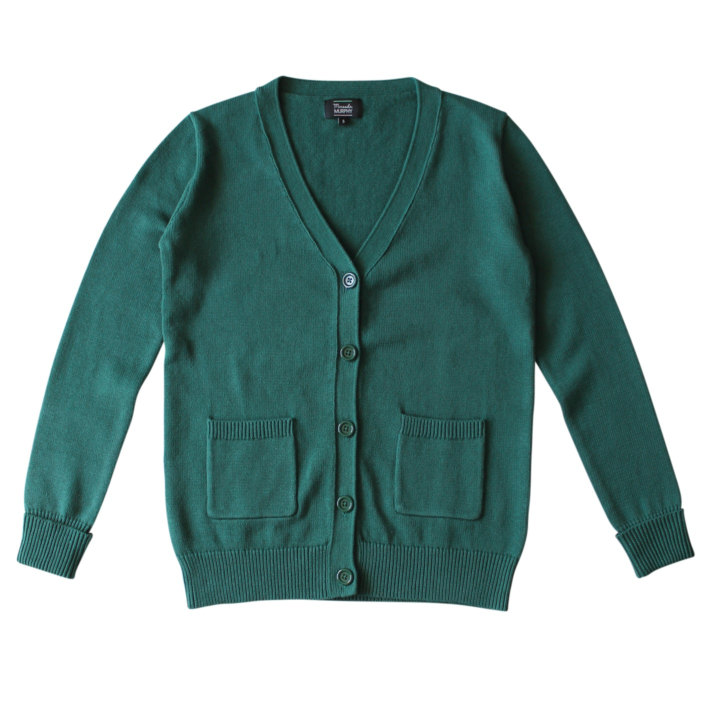 Winter Cardigan - Spruce Green