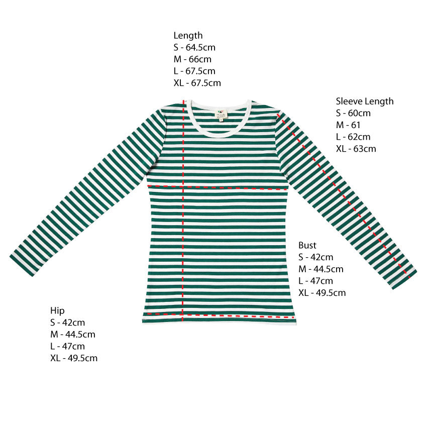 Long Sleeve Tshirt - Forest Green