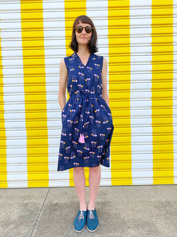 Picnic Dress - Matchstick Flowers