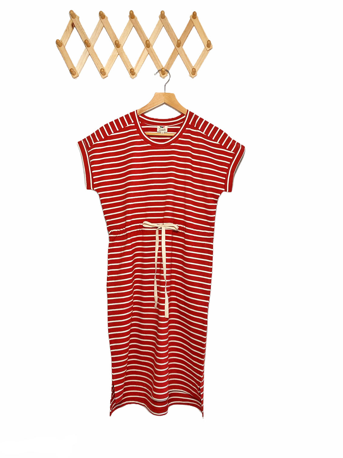 Summer Tee Dress - Rust Red