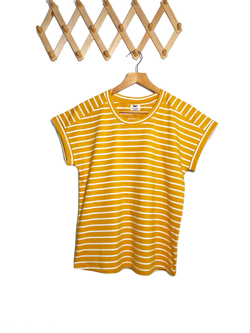 Summer Tee - Mustard Yellow (mid weight)