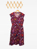 V Neck Dress -  Wrens garden